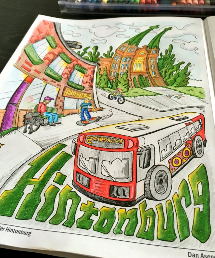 Colouring credit: Neighbourhood of Hintonburg by @ddej